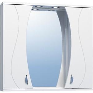 Зеркало-шкаф VIGO Faina №25 800 с подсветкой, белый (2000150388063) зеркало шкаф vigo jika 19 800 80х16х70