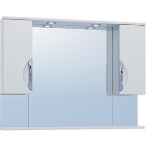 Зеркало-шкаф VIGO Callao №19-1000 с подсветкой, белый (2000166553523) зеркало шкаф vigo jika 19 800 80х16х70