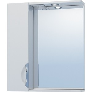 Зеркало-шкаф VIGO Callao №19-600Л с подсветкой, белый (2000000000213) зеркальный шкаф vigo mirella 80 с подсветкой белый
