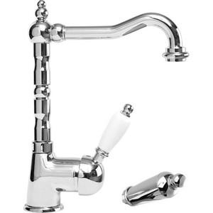 Смеситель для раковины Cezares Elite с донным клапаном, хром, ручки Металл (Elite-LSM2-01-M)