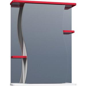 Зеркальный шкаф VIGO Alessandro №11 550 красный (2000150387974) цена