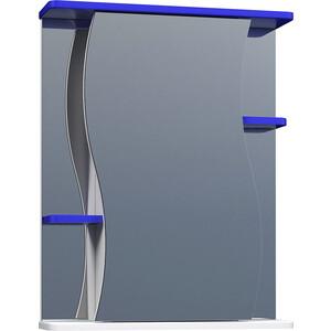 Зеркальный шкаф VIGO Alessandro №11 550 синий (2000150387981) все цены