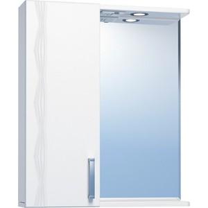Зеркало-шкаф VIGO Atlantic №16 550Л с подсветкой, белый (2000170715511)