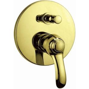 Смеситель для ванны Cezares Lira встраиваемый, с переключателем, Золото (LIRA-VDIM-03) недорго, оригинальная цена