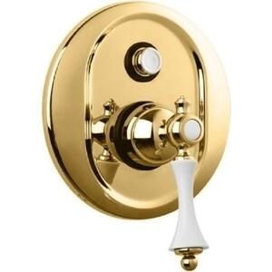 Смеситель для ванны Cezares Margot встраиваемый, Золото 24 карат (MARGOT-VDIM-03/24-Bi)