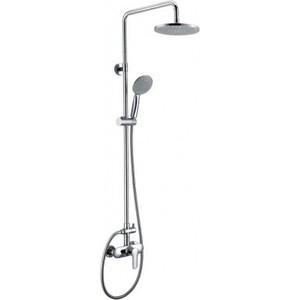 Душевая система BelBagno Reno со смесителем для ванны, верхним и ручным душем, хром (REN-DOCM-CRM-IN)