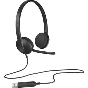 Гарнитура Logitech H340 USB (981-000475) цена 2017