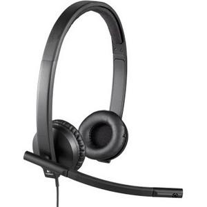 Гарнитура Logitech H570e Stereo USB (981-000575)