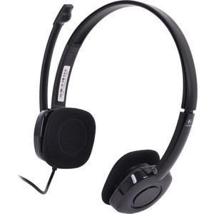 Гарнитура Logitech Stereo Headset H151 (981-000589) гарнитура logitech stereo headset h151 черный 981 000589