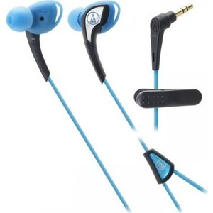 Наушники Audio-Technica ATH-SPORT2 blue hi fi наушники audio technica ath sr9
