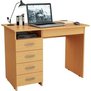 Письменный стол Мастер Милан-01 (бук) МСТ-СДМ-01-БК-02 цена