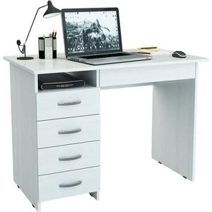 Письменный стол Мастер Милан-01 (белый)
