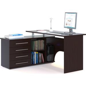 Компьютерный стол СОКОЛ КСТ-109Л венге сокол мебель кст 105 венге