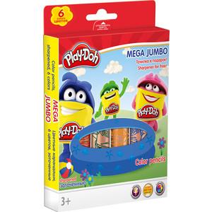 Цветные карандаши Play Doh 6 шт (PDDB-US1-3MJP-6)