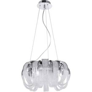 Подвесная люстра Crystal Lux Heat SP8 Crystal crystal lux подвесная люстра crystal lux medea sp18 white