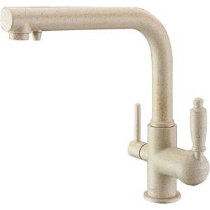 Смеситель для кухни ZorG GraniT под фильтр Clean Water кварц (ZR 313 YF-33 КВАРЦ) цена и фото