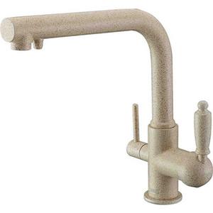 Смеситель для кухни ZorG GraniT под фильтр Clean Water песочный (ZR 313 YF-33 ПЕСОЧНЫЙ) zorg clean water zr 311 yf pvd bronze
