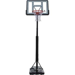 Баскетбольная мобильная стойка DFC STAND44PVC3 110x75 см с раздвижной регулировкой (STAND 4PVC3)