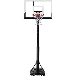 Баскетбольная мобильная стойка DFC STAND48P 120x80 см (поликарбонат) баскетбольная мобильная стойка dfc kids1 60x40 см