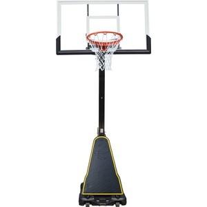 Баскетбольная мобильная стойка DFC STAND54G 136x80 см (стекло) баскетбольная мобильная стойка dfc kids1 60x40 см