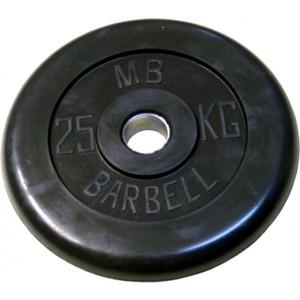 Диск обрезиненный Barbell 31 мм 25 кг диск обрезиненный body solid 5 фунтов 2 25 кг ort5