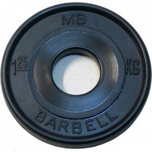 Диск обрезиненный Barbell 1,25кг евро-классик