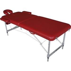 Массажный стол DFC Nirvana elegant lux, 186х70х4 cm (алюминиевые ножки, бордовый)технические характеристики фото габариты размеры  - купить со скидкой