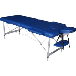 Массажный стол DFC Nirvana elegant lux, 186х70х4 cm (алюминиевые ножки, голубой) цены