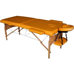 Массажный стол DFC Nirvana Relax (деревяные ножки, горчичный) цены