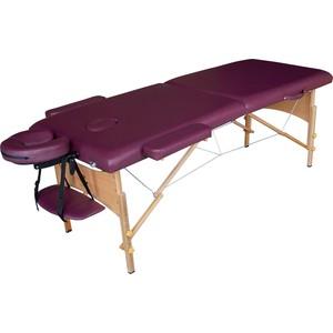 Массажный стол DFC Nirvana Relax (деревяные ножки, сливовый) цены