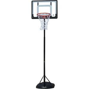 Баскетбольная мобильная стойка DFC KIDS4 80x58 см (полиэтилен) баскетбольная мобильная стойка dfc kids1 60x40 см