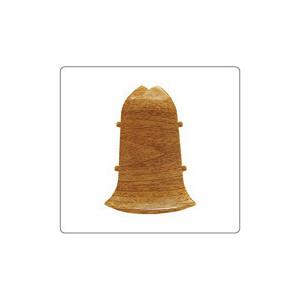 Наружный угол Идеал для плинтуса А45 Альфа 2 штуки 291 / Орех (ф2Н45 ОРХ)