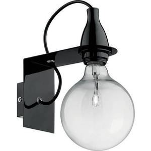 Бра Ideal Lux Minimal AP1 Nero бра ideal lux discovery cromo ap1