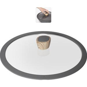 Крышка с силиконовым ободком d 28 см Nadoba Mineralica (751211) крышка с силиконовым ободком d 28 см nadoba greta 751311