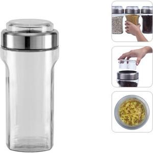 Ёмкость для сыпучих продуктов с мерным стаканом 1,15 л Nadoba Petra (741012)