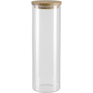 Ёмкость для сыпучих продуктов с крышкой из бамбука 1,65 л Nadoba Vilema (741510) ёмкость для сыпучих продуктов со стальной крышкой 1 65 л nadoba silvana 741410