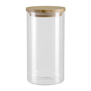 Ёмкость для сыпучих продуктов с крышкой из бамбука 1 л Nadoba Vilema (741511) ёмкость для сыпучих продуктов со стальной крышкой 1 65 л nadoba silvana 741410