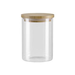 Ёмкость для сыпучих продуктов с крышкой из бамбука 0,7 л Nadoba Vilema (741512) ёмкость для сыпучих продуктов со стальной крышкой 1 65 л nadoba silvana 741410