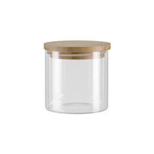 Ёмкость для сыпучих продуктов с крышкой из бамбука 0,45 л Nadoba Vilema (741513) ёмкость для сыпучих продуктов со стальной крышкой 1 65 л nadoba silvana 741410