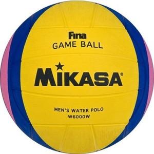 Мяч для водного поло Mikasa W6000W FINA Approved мяч для водного поло mikasa w6609c жен размер
