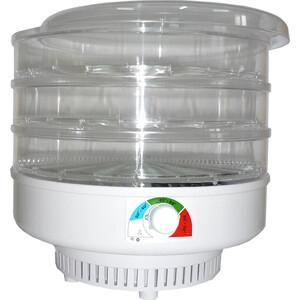 Сушилка для овощей и фруктов Спектр-Прибор ЭСОФ-0,5/220 Ветерок, прозрачный (3 поддона)