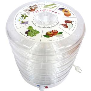 Сушилка для овощей и фруктов Спектр-Прибор ЭСОФ-0.5/220 Ветерок, прозрачный (5 поддонов)