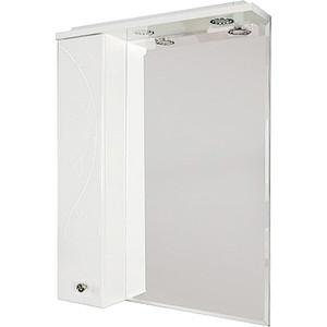 Зеркало-шкаф Акватон Лиана 65 шкафчик слева, белый (1A166202LL01L)