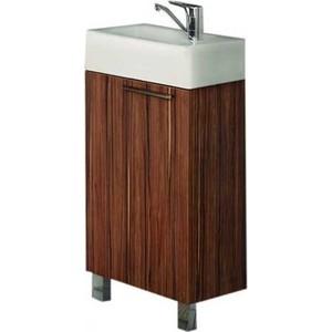 Тумба под раковину Акватон Эклипс 46 Н эбони темный (1A172601EK560) мебель для ванной акватон эклипс 46 м левая эбони светлый