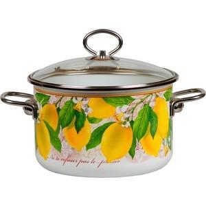 Кастрюля эмалированная 1.5 л Vitross Limon (1SB165S) набор посуды vitross limon 03