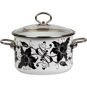 Кастрюля эмалированная 1.5 л Vitross Tango (1SB165S) ароматическая свеча yankee candle summer peach jar candle объем 623 г 623 мл