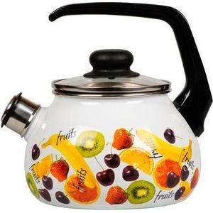 Чайник эмалированный со свистком 2.0 л Vitross Fruits (1RA12)