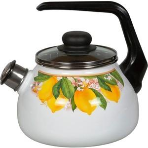 Чайник эмалированный со свистком 2.0 л Vitross Limon (1RA12) martin limon nightmare range