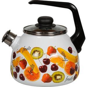 Чайник эмалированный со свистком 3.0 л Vitross Fruits (1RC12)