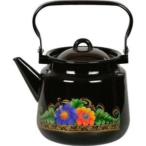 Чайник эмалированный 3.5 л СтальЭмаль Вологда (1с26с)